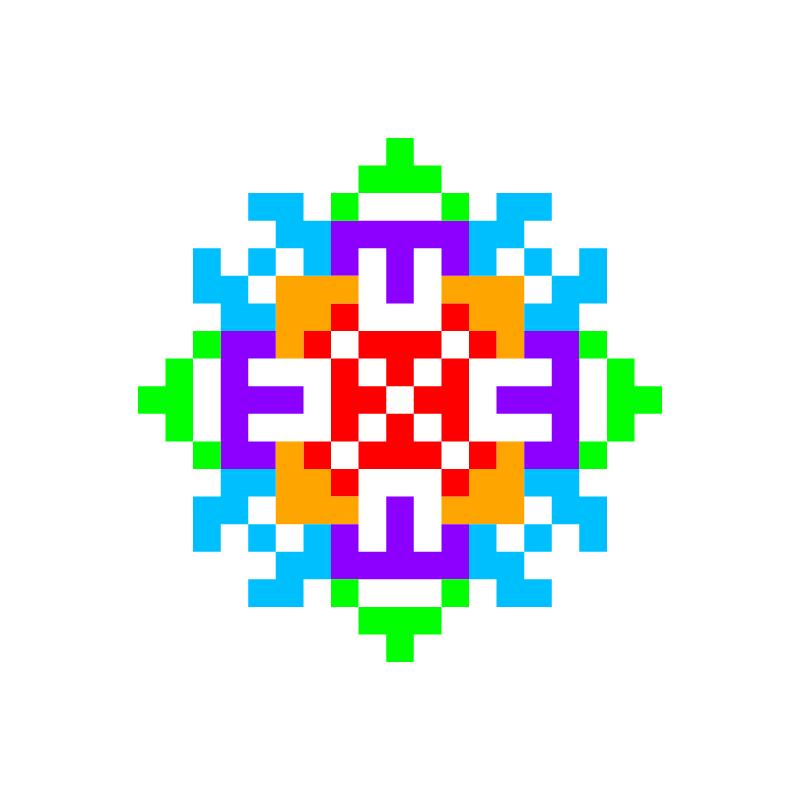 Текстовий слов'янський орнамент: Alena