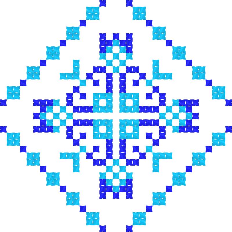 Текстовий слов'янський орнамент: Розум