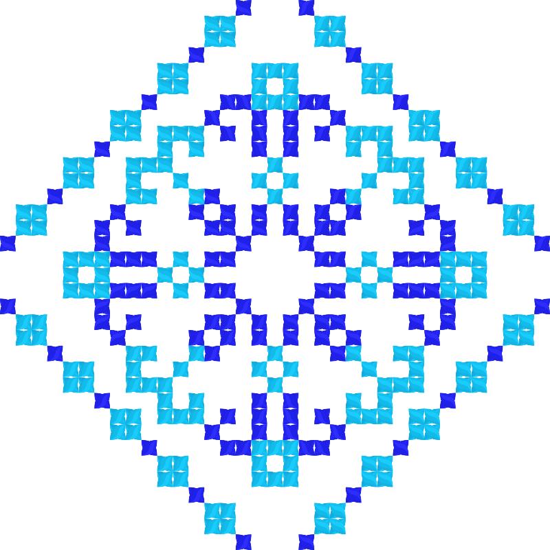 Текстовий слов'янський орнамент: Добро