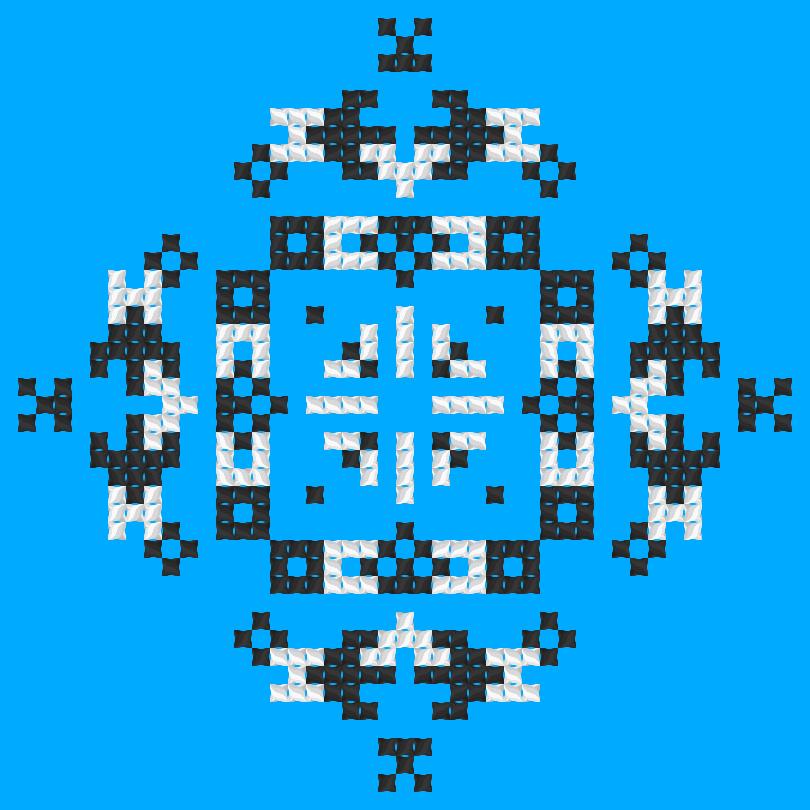 Текстовий слов'янський орнамент: відпочинок