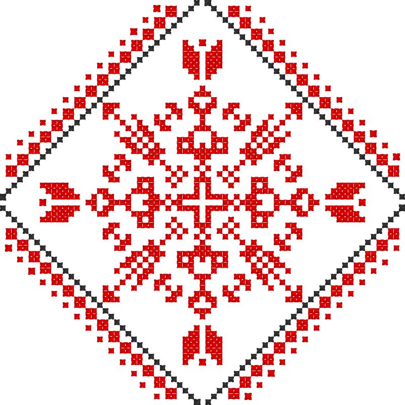 Текстовий слов'янський орнамент: Легкого навчання