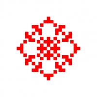Текстовый украинский орнамент: Яна