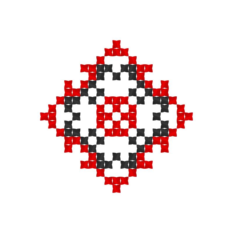 Текстовий слов'янський орнамент: Томас