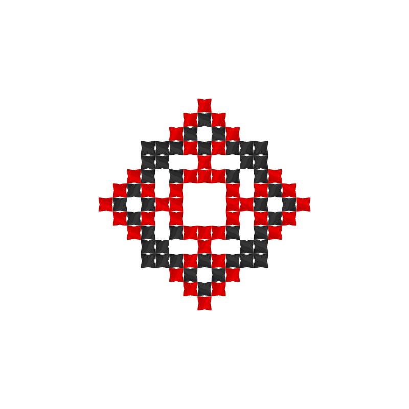 Текстовий слов'янський орнамент: Коля