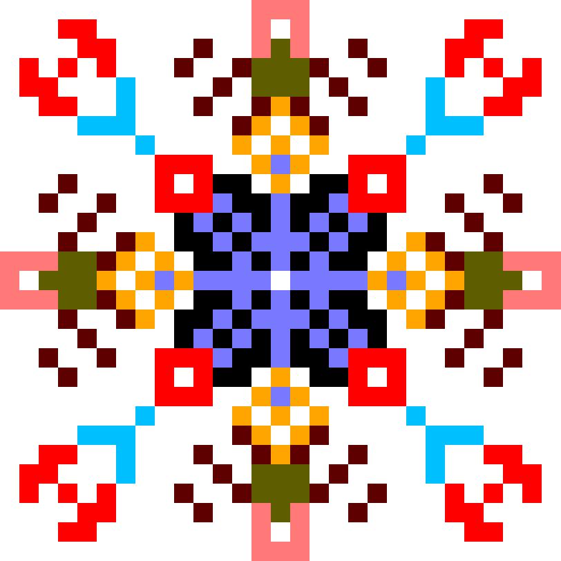Текстовий слов'янський орнамент: НА СВЄТЄР
