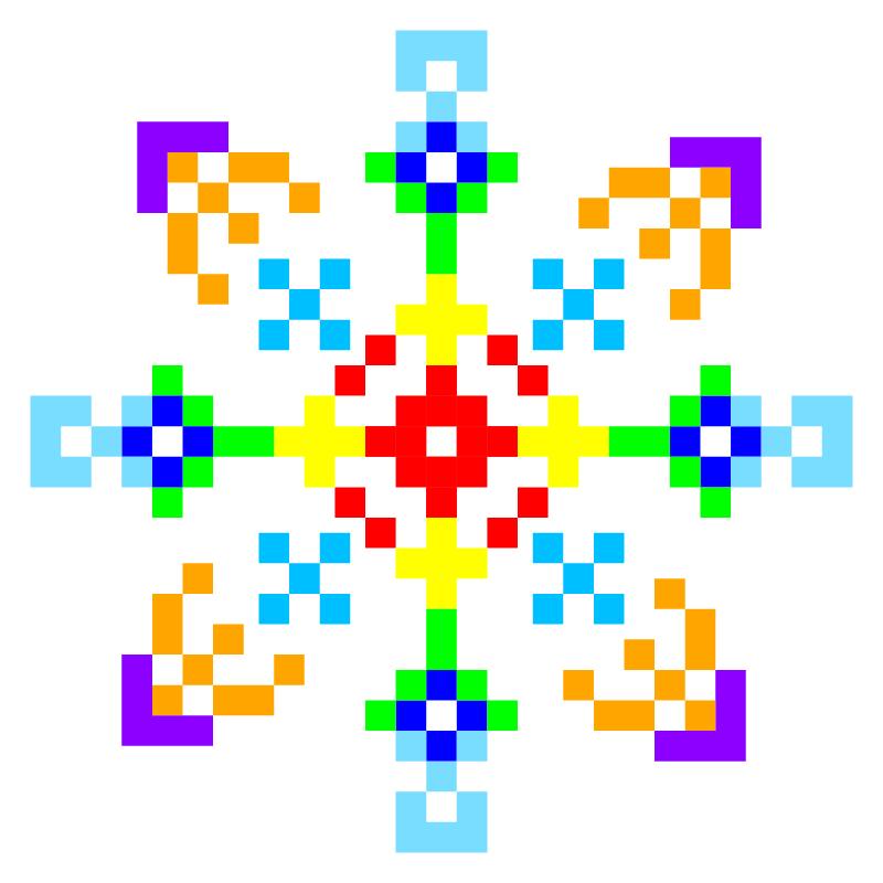 Текстовий слов'янський орнамент: выхухоль