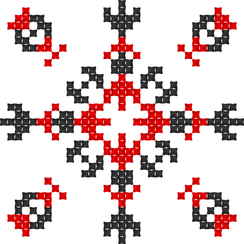 Текстовий слов'янський орнамент: Ниганика