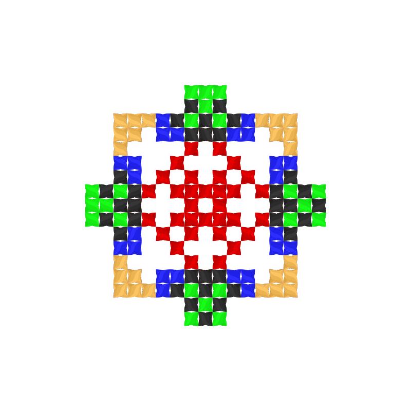 Текстовий слов'янський орнамент: Людочка