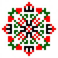 Текстовый украинский орнамент: Перемога