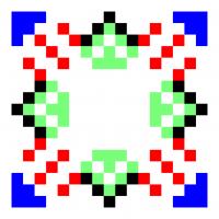 Текстовый украинский орнамент: Влад