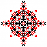 Текстовый украинский орнамент: @archie_chop - самый лучший инстограм в мире!