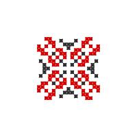 Текстовый украинский орнамент: Інна