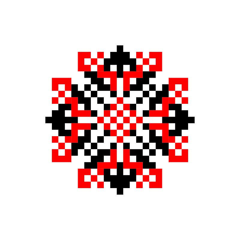 Текстовий слов'янський орнамент: волинь