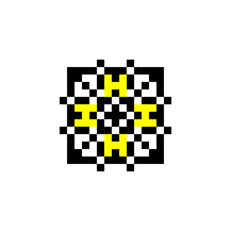 Текстовий слов'янський орнамент: Арина