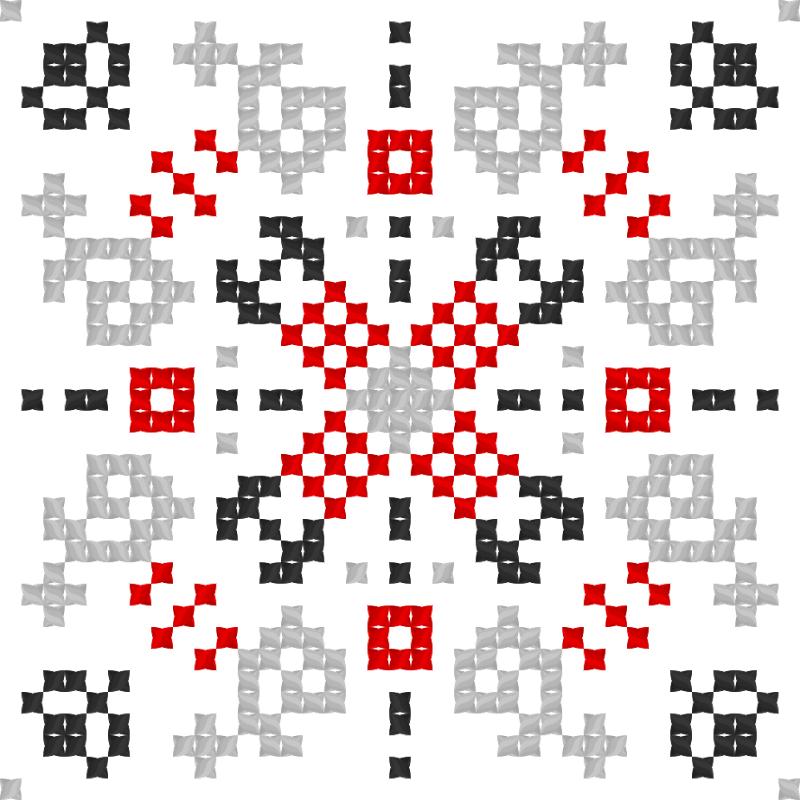 Текстовий слов'янський орнамент: Зіновій