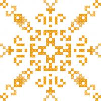 Текстовый украинский орнамент: сонце,море,літо