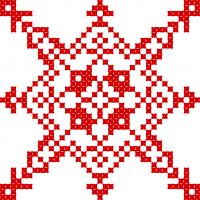 Текстовый украинский орнамент: вічна молодість