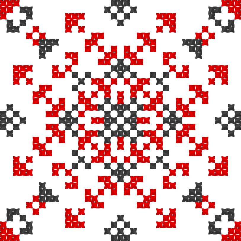 Текстовий слов'янський орнамент: Анастасія-доня