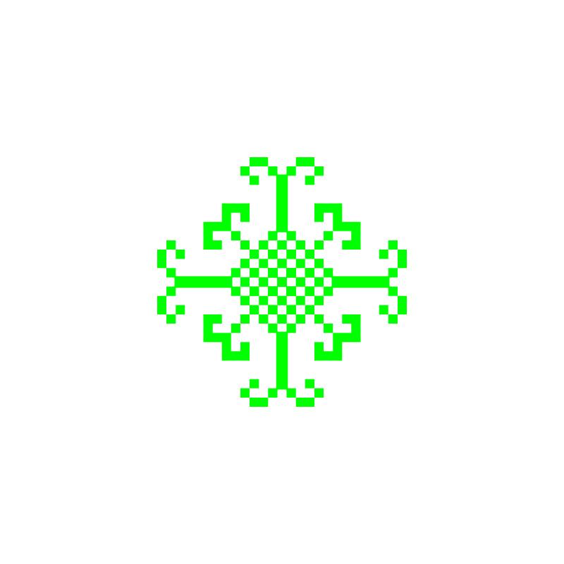 Текстовий слов'янський орнамент: sacr8