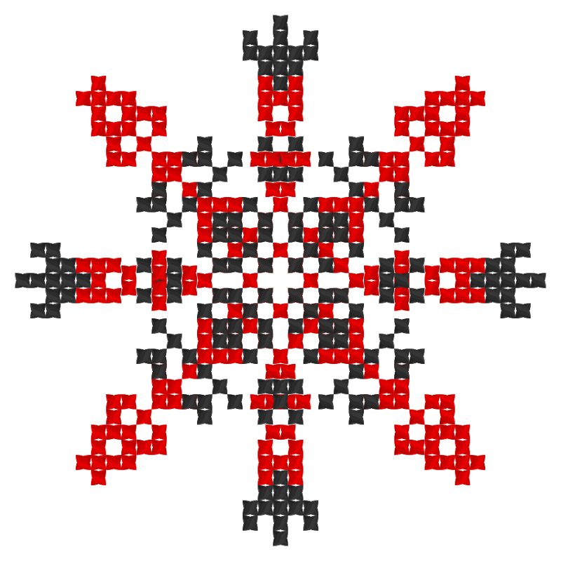 Текстовий слов'янський орнамент: Словянський