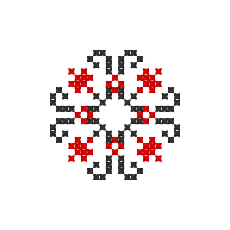 Текстовий слов'янський орнамент: Єгор