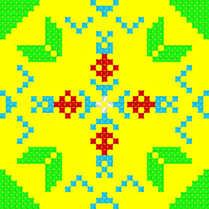 Текстовий слов'янський орнамент: Альфа v3