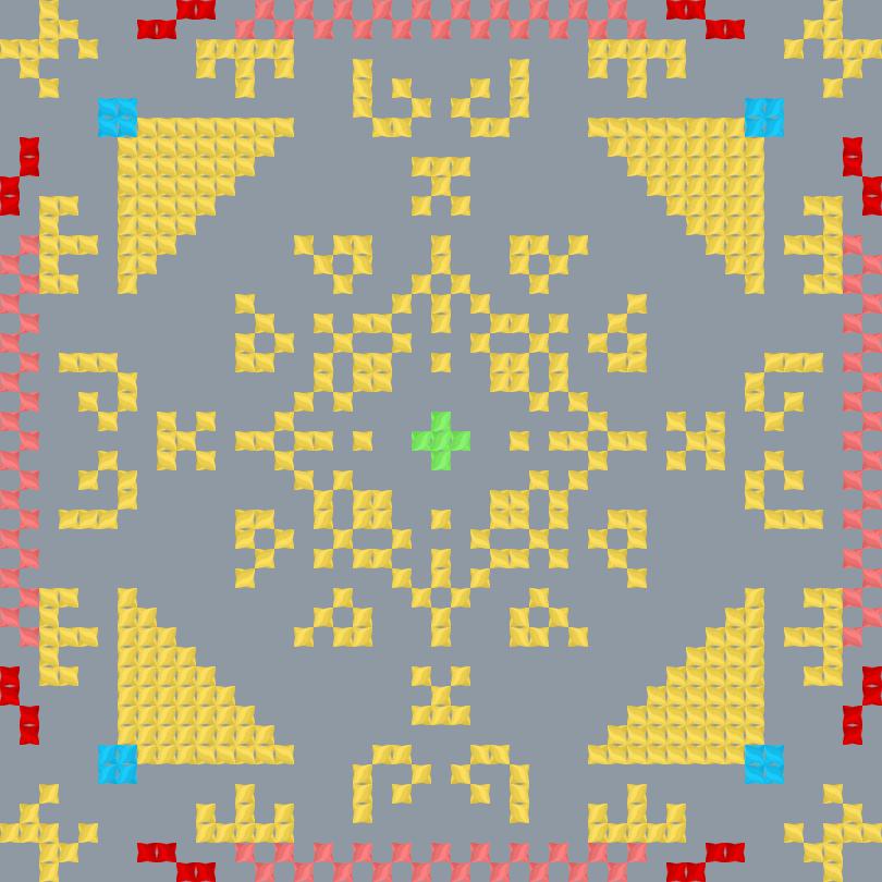 Текстовий слов'янський орнамент: Меркурій v2