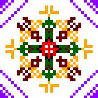 Текстовый украинский орнамент: Бджоли