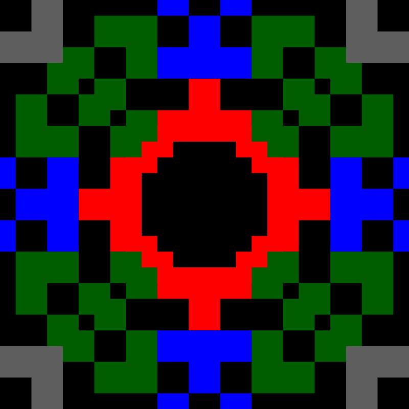 Текстовий слов'янський орнамент: ARK