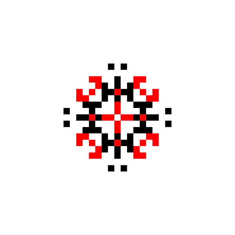 Текстовий слов'янський орнамент: сім'ї