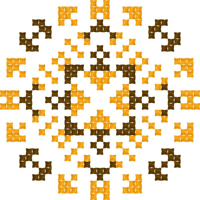 Текстовий слов'янський орнамент: Чаювання