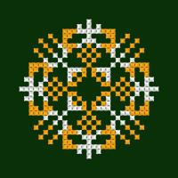 Текстовый украинский орнамент: Єлизавета 2