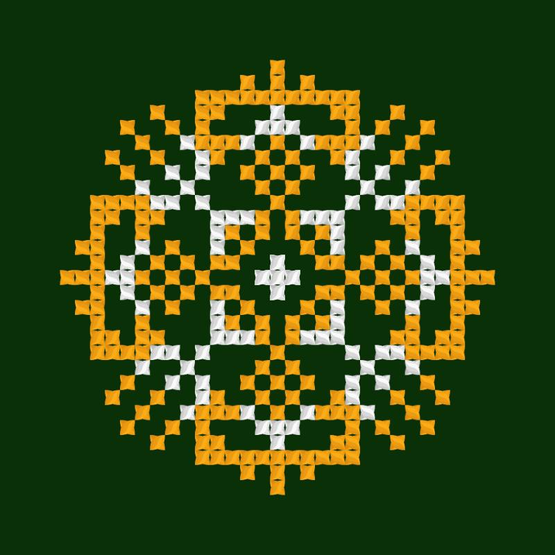 Текстовий слов'янський орнамент: Єлизавета 3