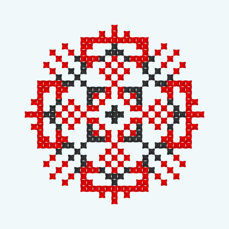 Текстовий слов'янський орнамент: Єлизавета4