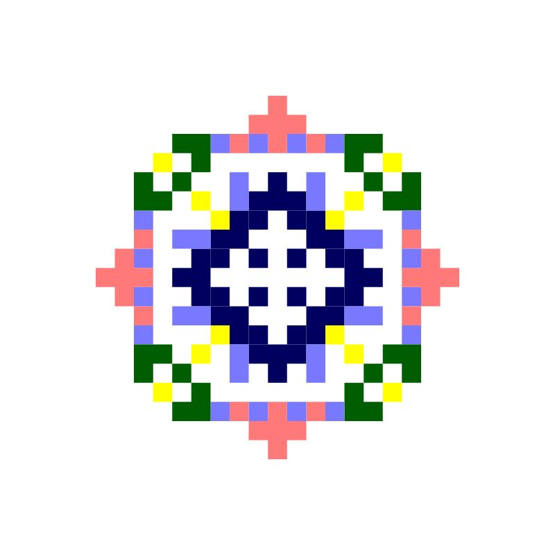Текстовий слов'янський орнамент: Таїсія