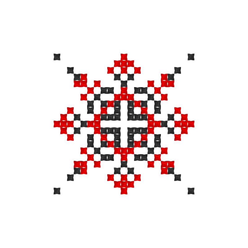 Текстовий слов'янський орнамент: Алєксія