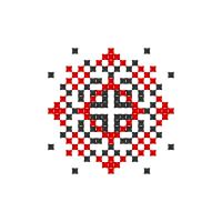 Текстовый украинский орнамент: Алексія