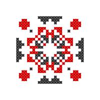 Текстовый украинский орнамент: Ніна