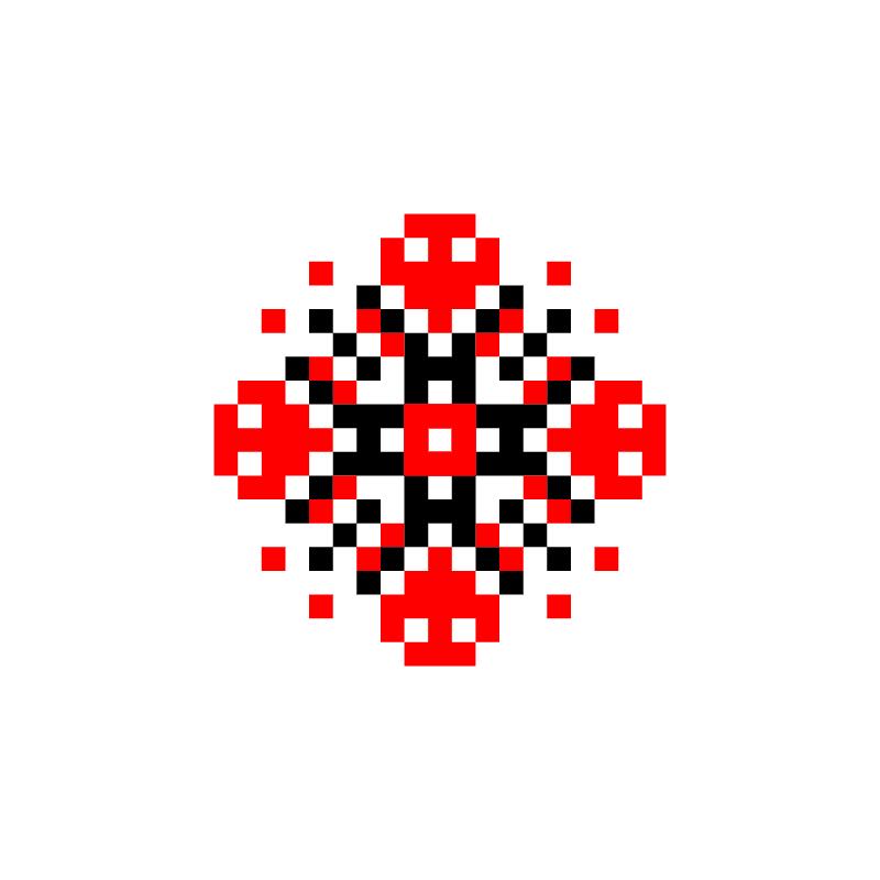 Текстовий слов'янський орнамент: новій