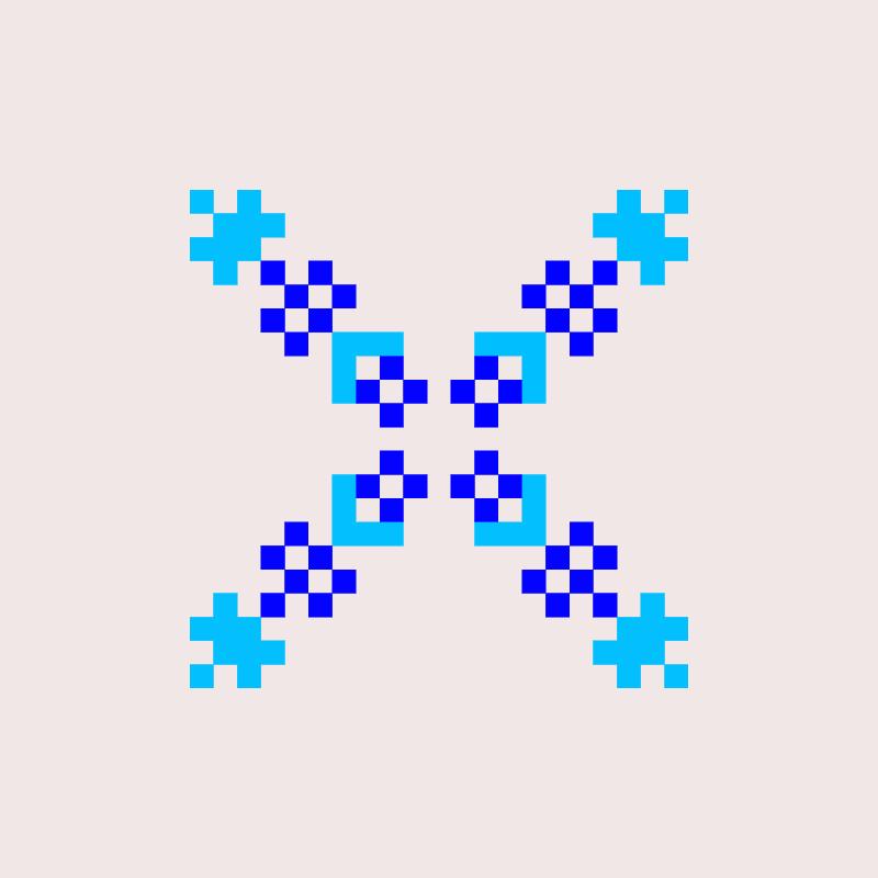 Текстовий слов'янський орнамент: oleg