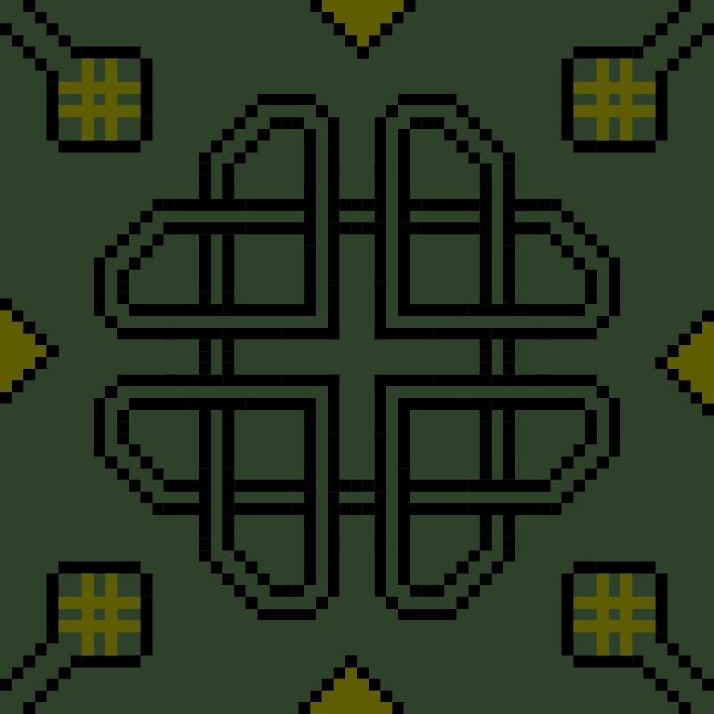 Текстовий слов'янський орнамент: Celtic