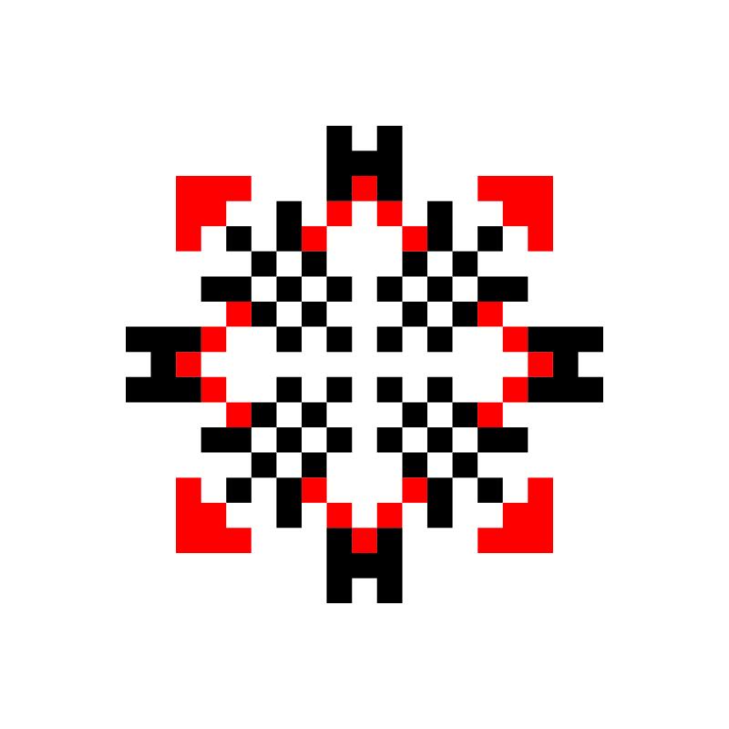 Текстовий слов'янський орнамент: елена