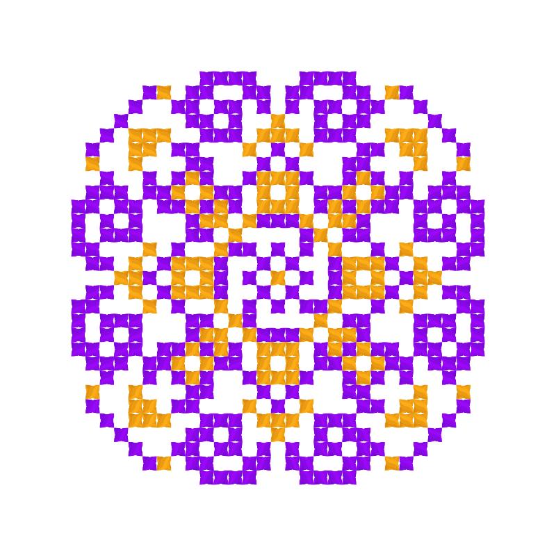 Текстовий слов'янський орнамент: Роксолана