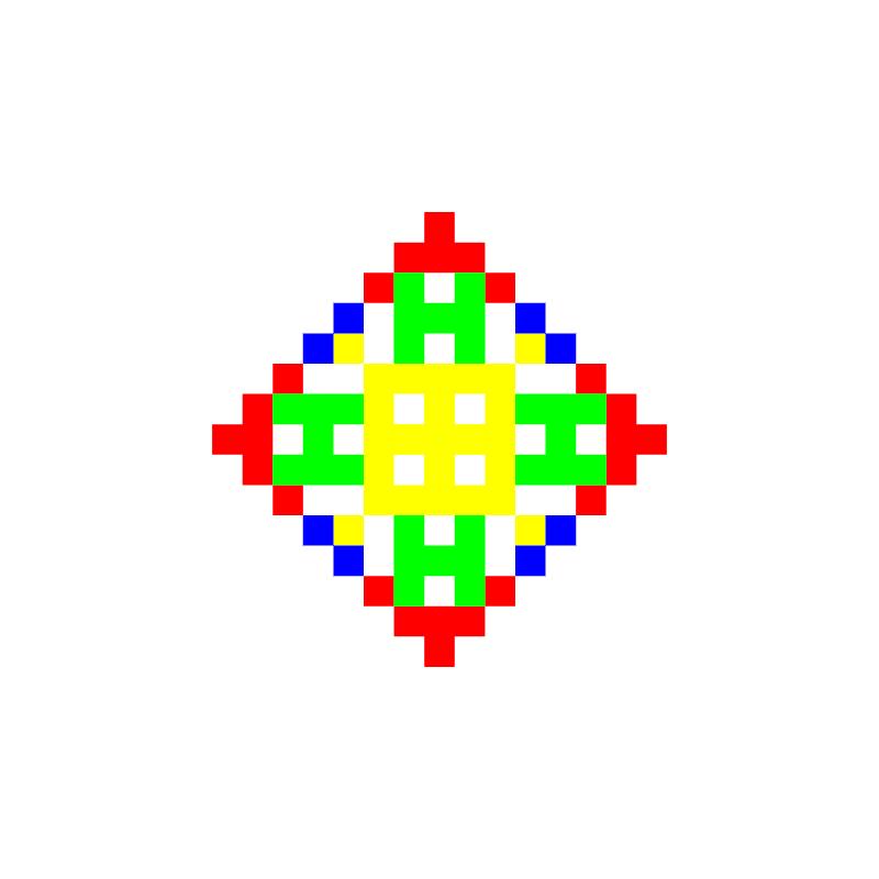 Текстовий слов'янський орнамент: Антон2