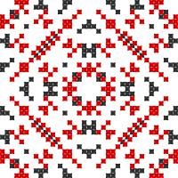 Текстовый украинский орнамент: Жінка