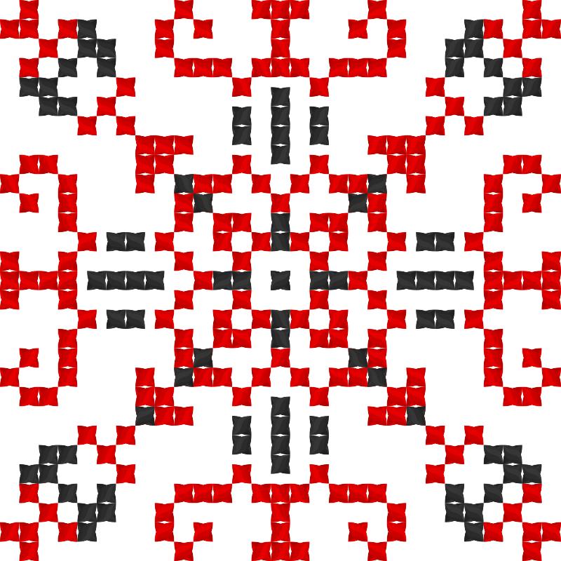 Текстовий слов'янський орнамент: Наталя