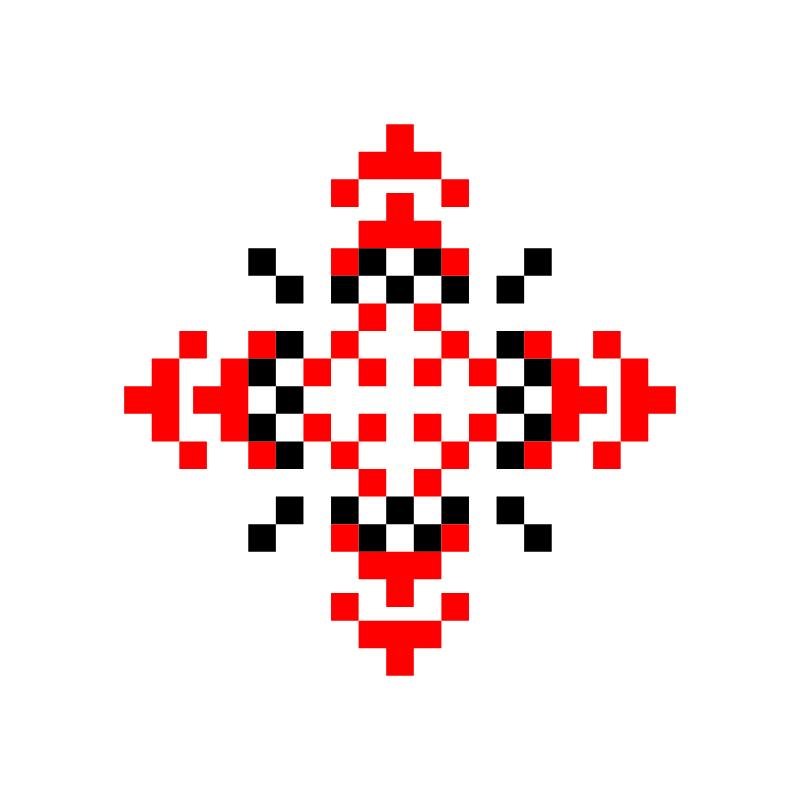 Текстовий слов'янський орнамент: Таїса