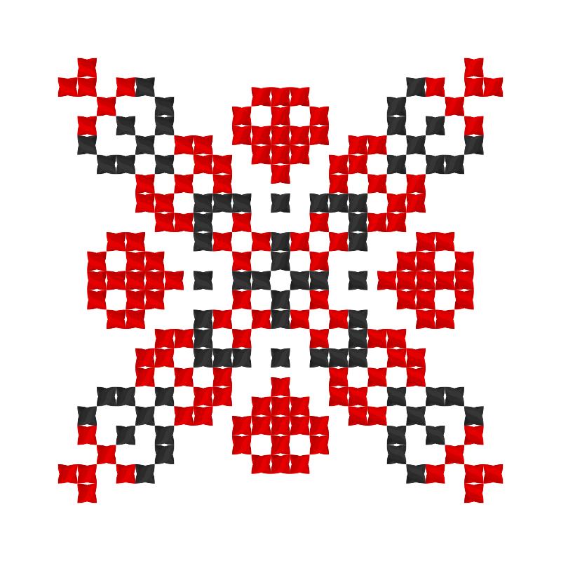 Текстовий слов'янський орнамент: Олійник