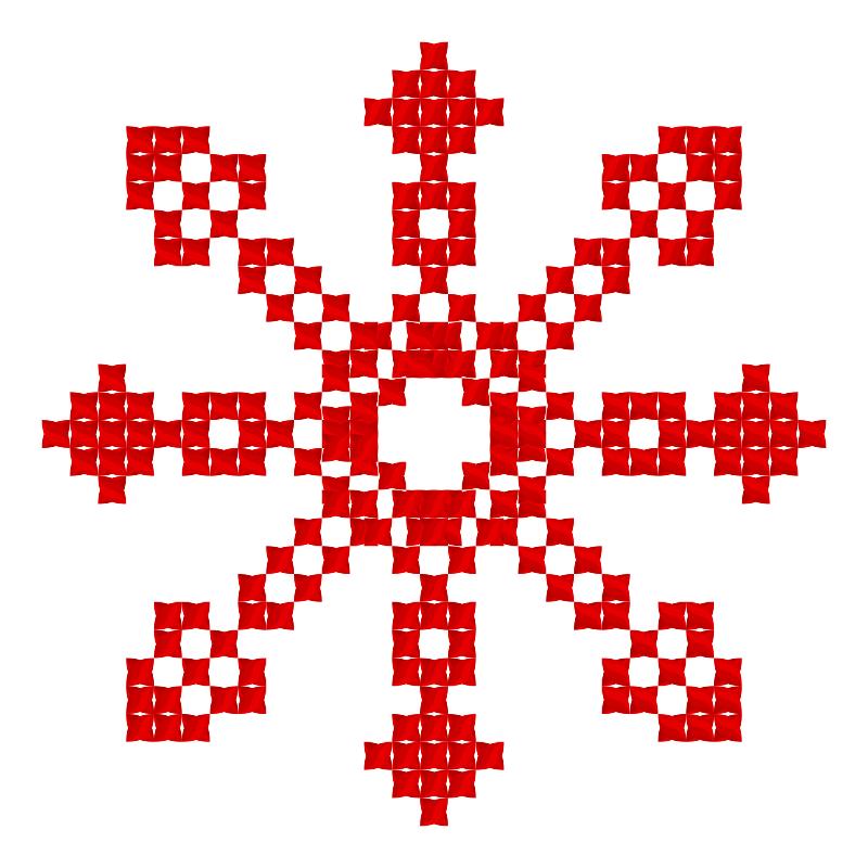 Текстовий слов'янський орнамент: доця