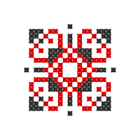 Текстовый украинский орнамент: Дарія